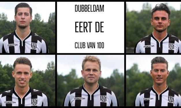 Dordt Centraal: vijf nieuwe spelers Dubbeldam in Club van 100