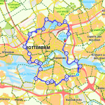 Route Rotterdam