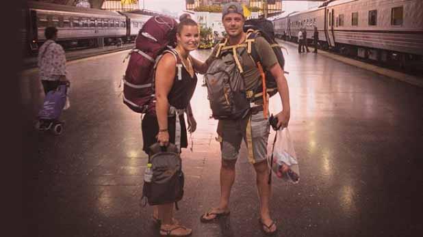 Bart en Joyce in Bangkok