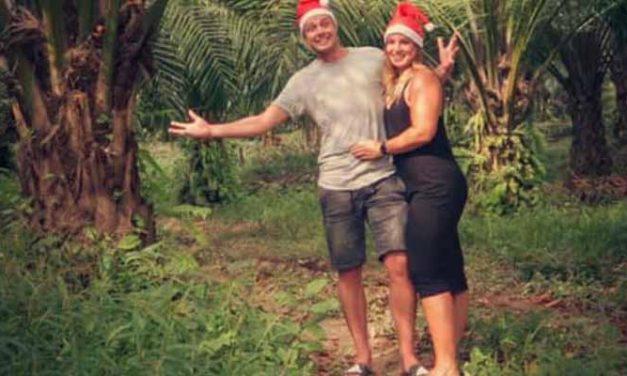 Bart en Joyce vieren kerst