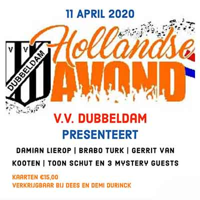 HOLLANDSE AVOND vv Dubbeldam